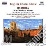 Choral music cd musicale di Edmund Rubbra