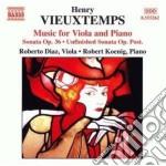 Vieuxtemps Henry - Opere X Vla E Pf cd musicale di Henry Vieuxtemps