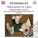 Concerti per violino nn.1 e 2