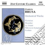 ORCHESTRAL WORKS cd musicale di Elisabetta Brusa