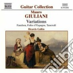 Opere x chitarra vol.1: variazioni cd musicale di Mauro Giuliani