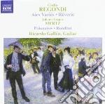 Airs vari????s opp.20 e 21, r????verie, op.19, cd musicale di Giulio Regondi