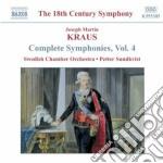 Sinfonie (integrale) vol.4 cd musicale di Kraus joseph martin