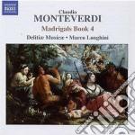 Madrigali, libro quarto cd musicale di Claudio Monteverdi