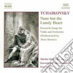 Lieder (versione x vl e orchestra di pet cd musicale di Ciaikovski pyotr il'