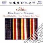 Concerto per pianoforte, sinfonia cd musicale di Akio Yashiro
