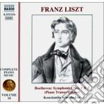 Opere x pf (integrale) vol.18: trascrizi cd musicale di Franz Liszt