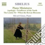 Piano music volume 4 cd musicale di SIBELIUS