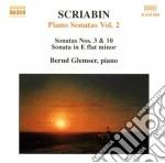 Piano sonatas vol.2 cd musicale di SCRIBIAN