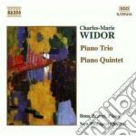 Quintetto con pianoforte op.7, trio op.1 cd musicale di Charles-marie Widor