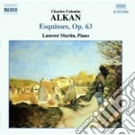 Opere per pianoforte, vol.2: esquisses o cd musicale di Alkan charles valent
