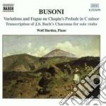 Opere x pf (integrale) vol.2: ciaccona b cd musicale di Ferruccio Busoni
