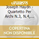 String quartets op.3 nos.3 6 cd musicale di HAYDN