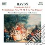 Sinfonia n.70, n.71, n.73