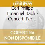 Complete flute c.-2cd cd musicale di C.p.e. Bach
