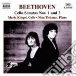 Musica per violoncello e pianoforte (int cd musicale di Beethoven ludwig van