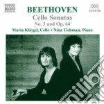 Music cello and piano v.2 cd musicale di BEETHOVEN LUDWIG VAN