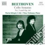 Beethoven Ludwig Van - Musica Per Violoncello E Pianoforte, Vol.2 cd musicale di BEETHOVEN LUDWIG VAN