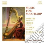 Music for solo harp cd musicale