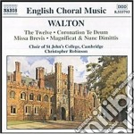 Musica corale cd musicale di William Walton