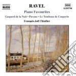 Piano favourites cd musicale di Maurice Ravel