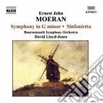 Sinfonia in sol minore, sinfonietta cd musicale di Moeran ernest john