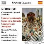 Opere per orchestra (integrale), vol.9 cd musicale di JoaquÍn Rodrigo