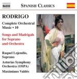 Opere per orchestra (integrale), vol.10: cd musicale di JoaquÍn Rodrigo