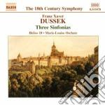 Sinfonia in sol mag (altner g2), in mib cd musicale di Dussek franz xaver