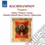 Rachmaninov Sergei - Vespri cd musicale di Sergei Rachmaninov