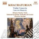 Violin concertos cd musicale di KHACHATURIAN