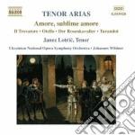 Tenor arias-a.v. cd musicale di ARTISTI VARI