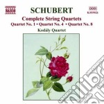 Quartetti per archi (integrale), voulume cd musicale di Franz Schubert