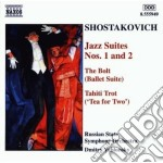 Jazz suite n.1 e n.2, the bolt (ballet s cd musicale di Dmitri Sciostakovic