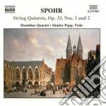 Quintetti per archi (integrale) vol.1 cd musicale di Louis Spohr