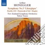 Symphony no.3 liturgique cd musicale di HONEGGER