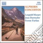 Sinfonia pasorella (x corno delle alpi e cd musicale di Leopold Mozart