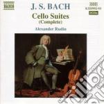 Suites per violoncello solo (integrale), cd musicale di Johann Sebastian Bach