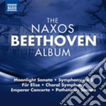 THE NAXOS BEETHOVEN ALBUM                 cd musicale di Beethoven ludwig van