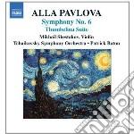 SINFONIA N.6, TUMBELINA SUITE             cd musicale di Alla Pavlova