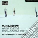 Opere per pianoforte (integrale), vol.1 cd musicale di Mieczysla Weinberg