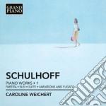 Opere per pianoforte (integrale), vol.1: cd musicale di Erwin Schulhoff