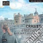 Studio per pianoforte (84 etudes in 4 li cd musicale di Cramer johann bapti