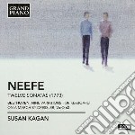 12 sonate per pianoforte cd musicale di Neefe christian got