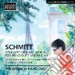 Opere per duo pianistico e pianoforte a cd musicale di Florent Schmitt