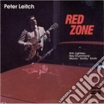 Red zone cd musicale di Leitch Peter
