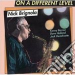 On a different level cd musicale di Brignola Nick