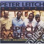 A special rapport cd musicale di Peter leitch quartet