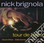 Tour de force - brignola nick cd musicale di Brignola Nick