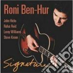 SIGNATURE cd musicale di RONI BEN-HUR